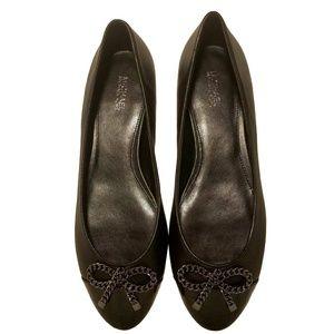 MICHAEL Michael Kors Posey Ballet Black Flats